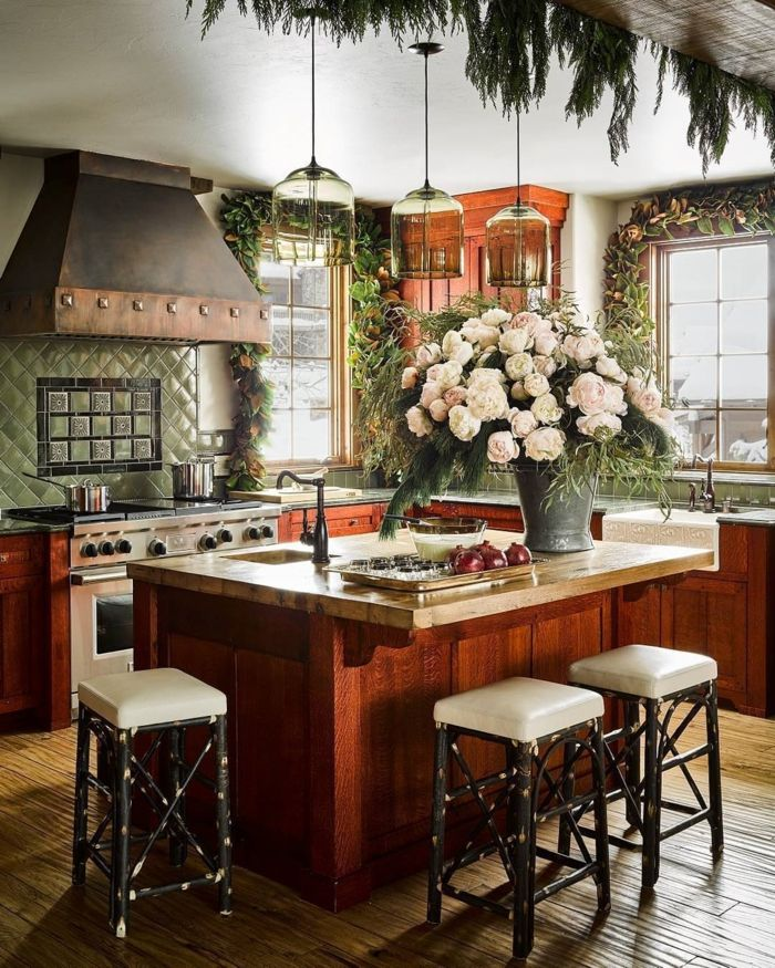 1001 ideas para organizar las cocinas peque as cocinas - Cocinas pequenas con encanto ...