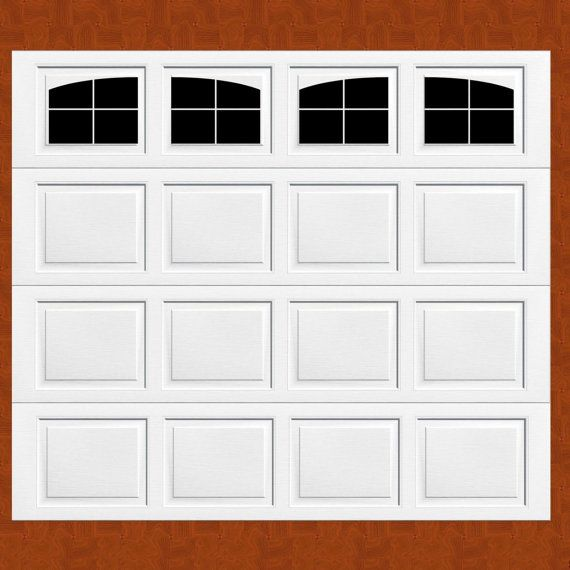 Carriage House Style Faux Windows Garage Door Vinyl Decals No Faux Hardware This Set Fits Panels That Are 16 Wide Garage Doors Garage Door Design Faux Window