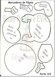 Resultado de imagem para marcadores tampinha EVA