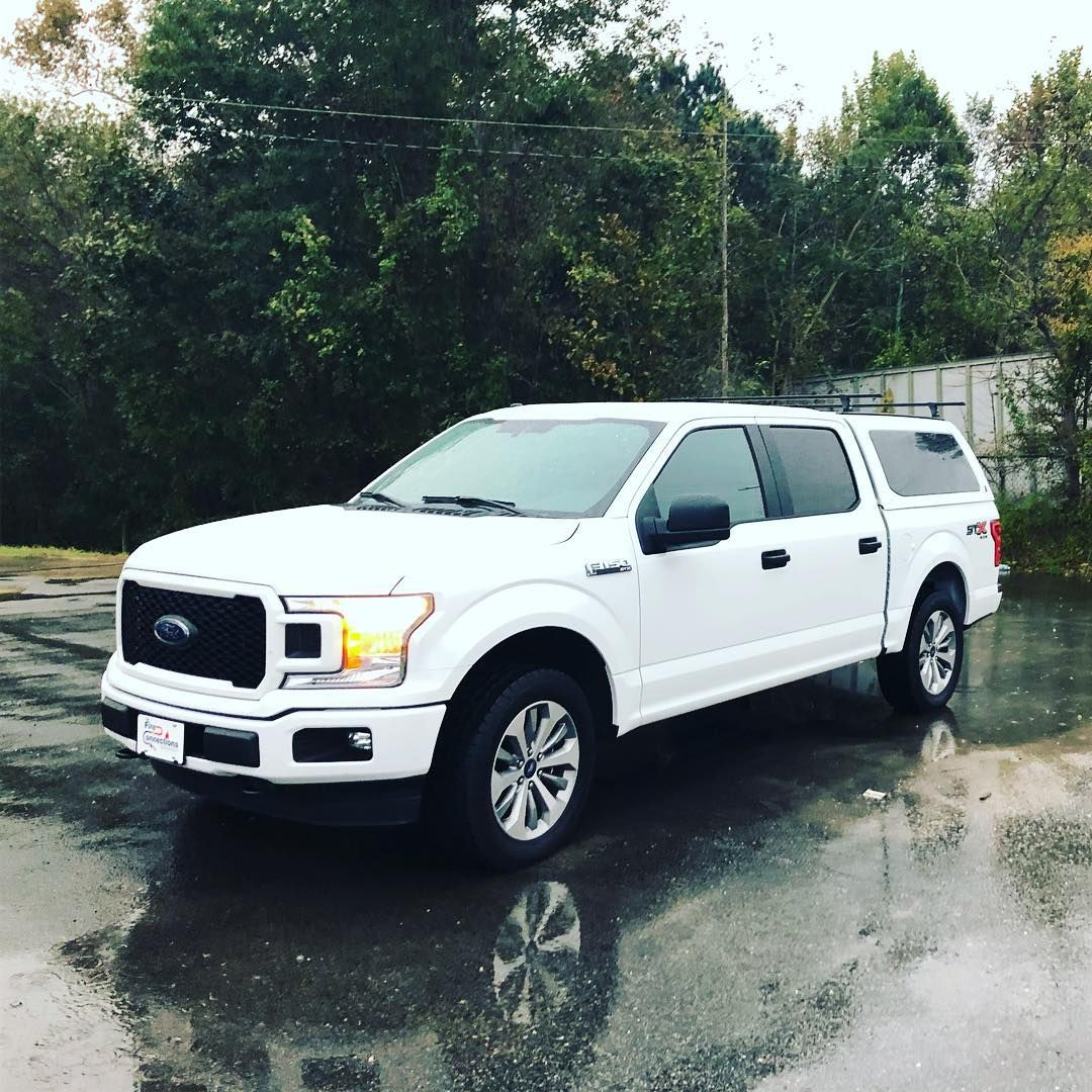 This F150 is work ready! Complete with a spray in bedliner