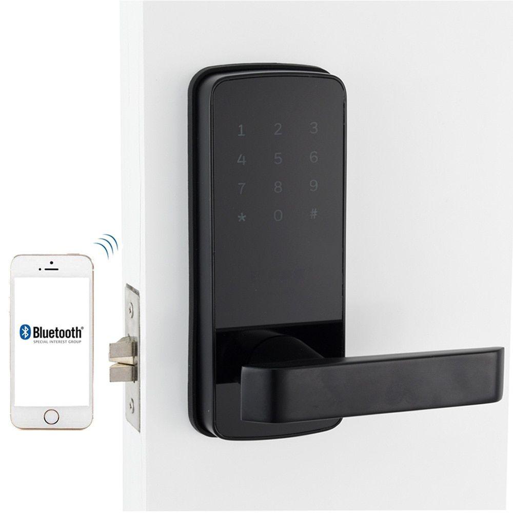 Smart Door Lock Wifi Keyless Korea Style App Digital Door Lock Bluetooth Smart Password Lock Pin Code Electroni Smart Door Locks Digital Lock Door Lock System