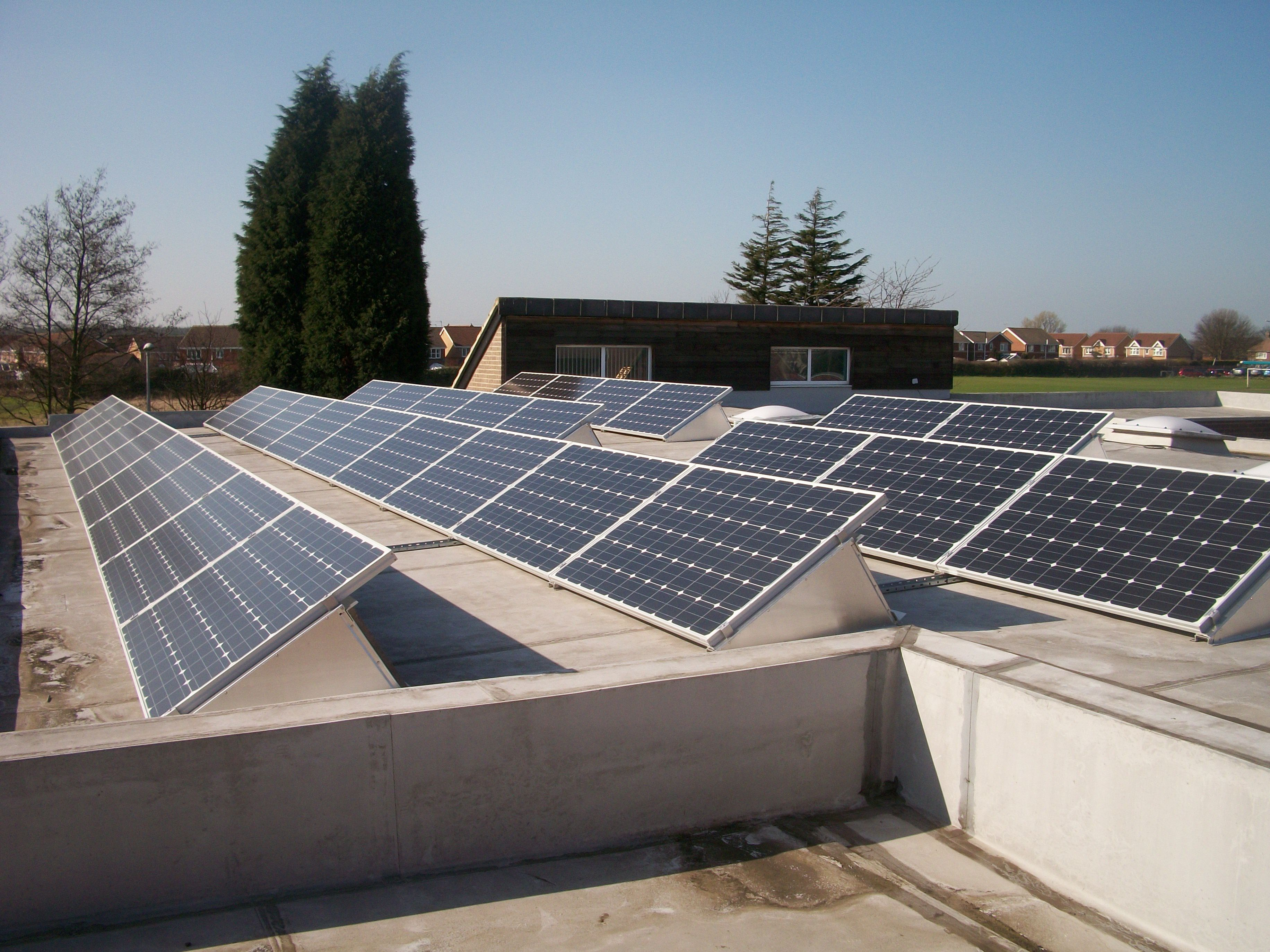 Commercial Solar Pv Installation Solar Commercial Save Energy