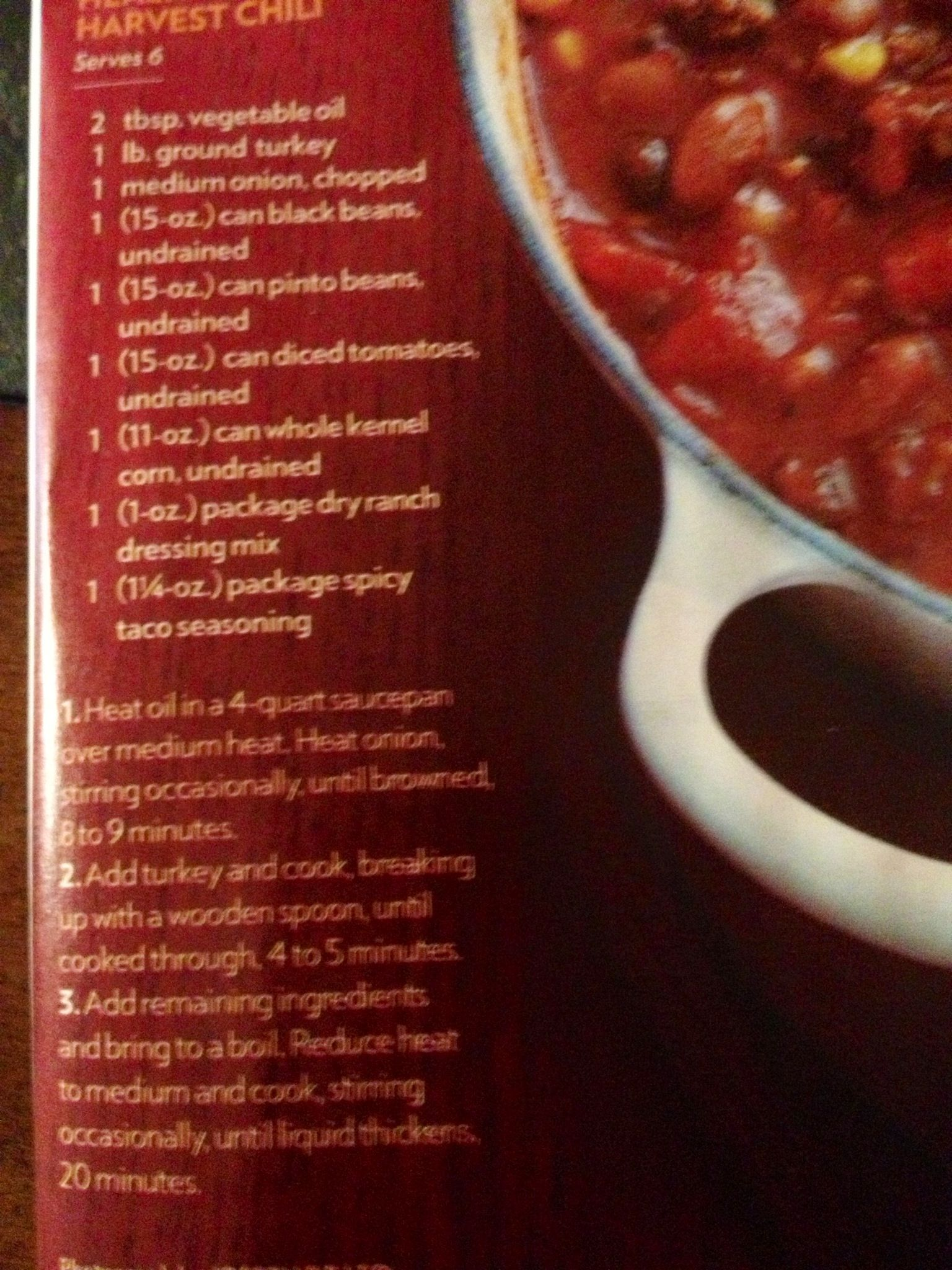Saw This Turkey Chili Recipe In People Magazine Might Try It Next Time Ground Turkey Chili Chili Recipe Turkey Turkey Chili