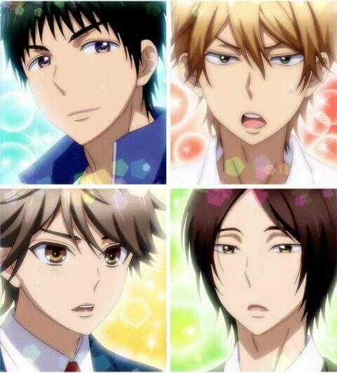 Anime Batch Comedy: Igarashi, Nanashima, Shinomiya And Mutsumi
