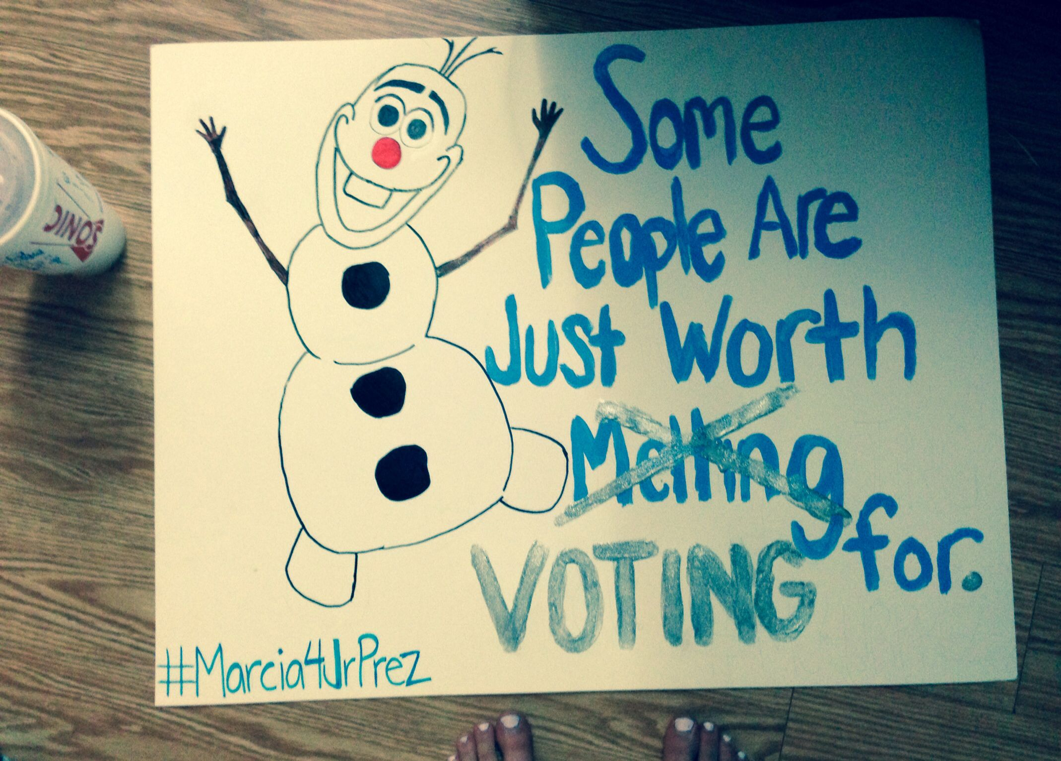 Student council Campaign poster | Craft | Pinterest | Campaign ... for Creative Poster Ideas For Campaigning  110yll