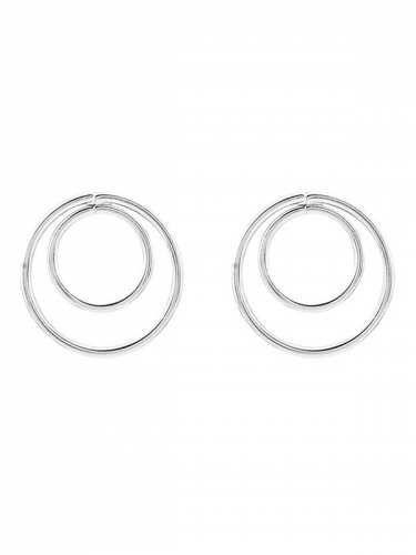 Prezzi e Sconti: #Minimalist design circles earrings  ad Euro 1.31 in #Jewelry #Moda