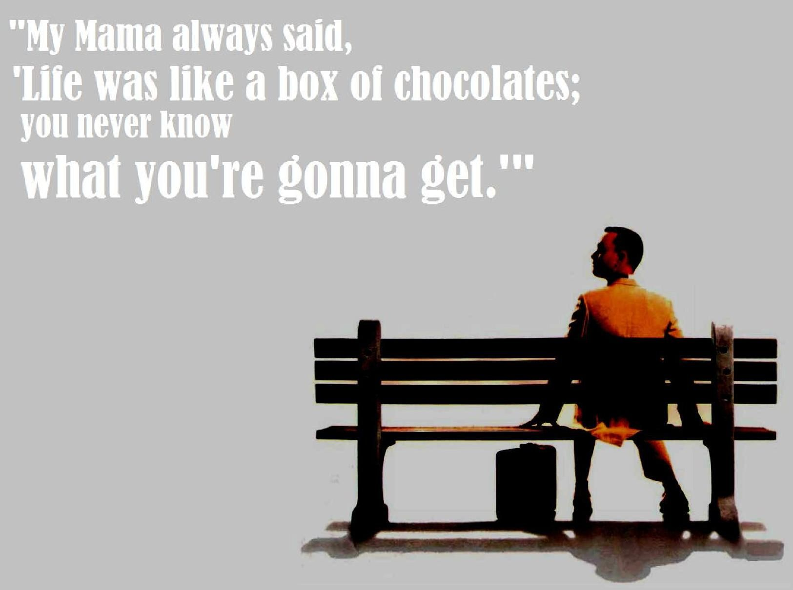 Box Of Chocolates, Forest Gump