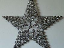 Best wanddeko metall abstrakt star