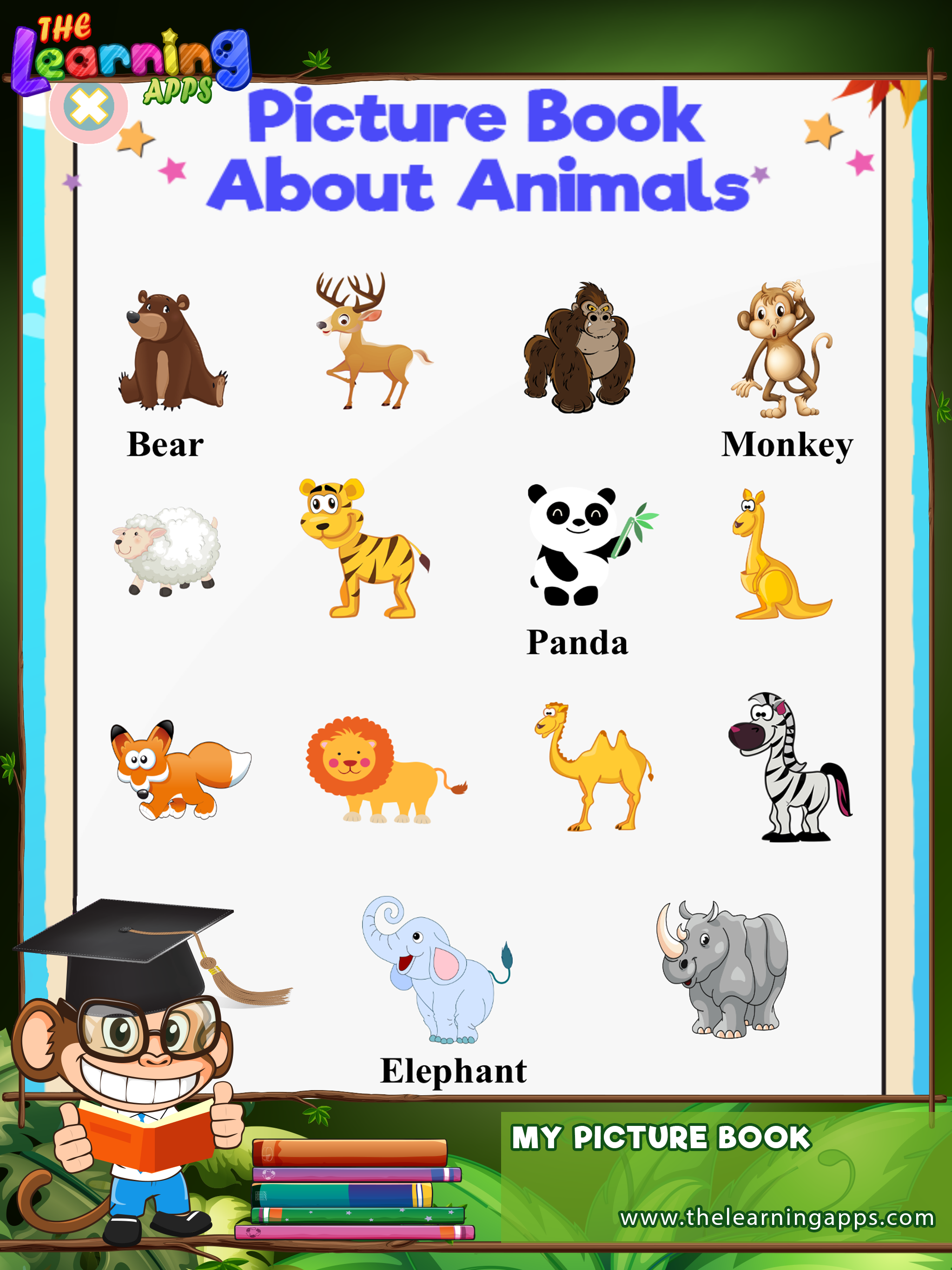 First Words Picture Dictionary for Kids App Kids app