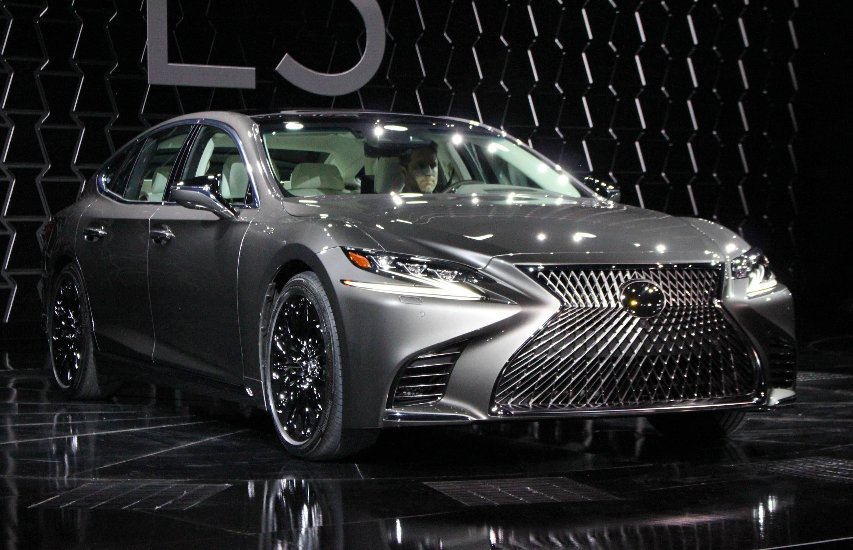 All New 2018 Lexus Ls 500 Gets A Twin Turbo V6 Lexus Ls Lexus Lexus Cars