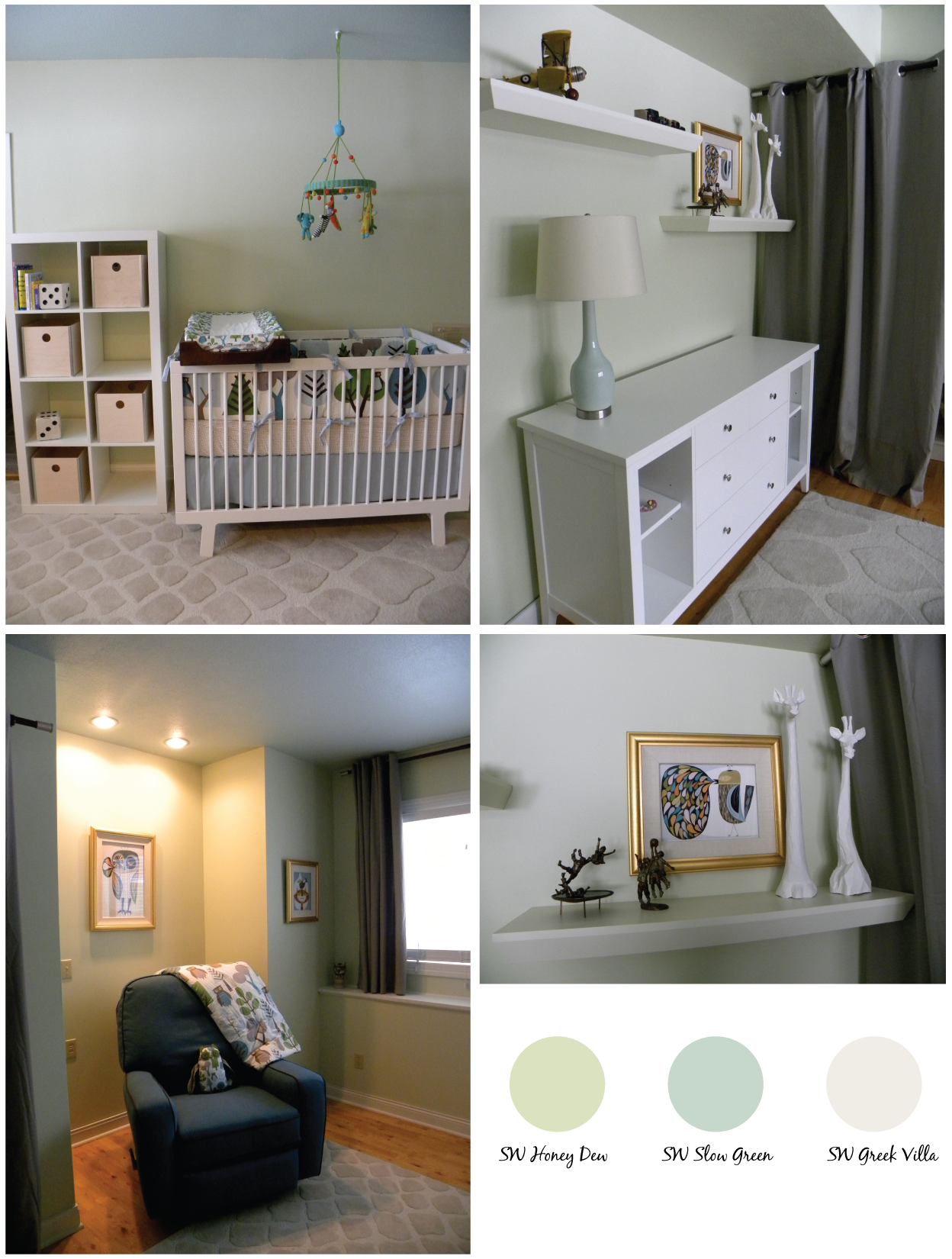 Sherwin Williams Honeydew Nursery Pinterest