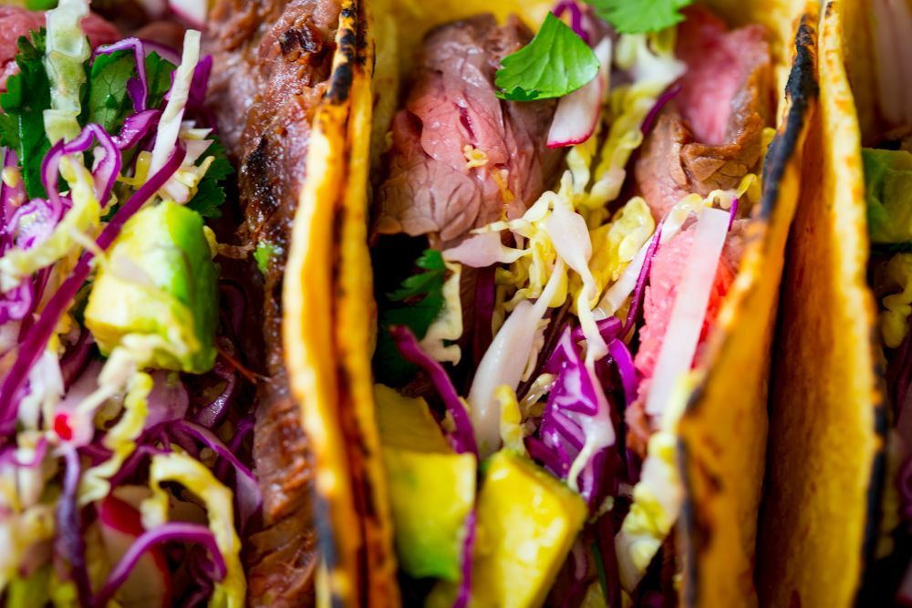 Maple Chipotle Flank Steak Tacos #maplelinkparty #flanksteaktacos Maple Chipotle Flank Steak Tacos #maplelinkparty #flanksteaktacos