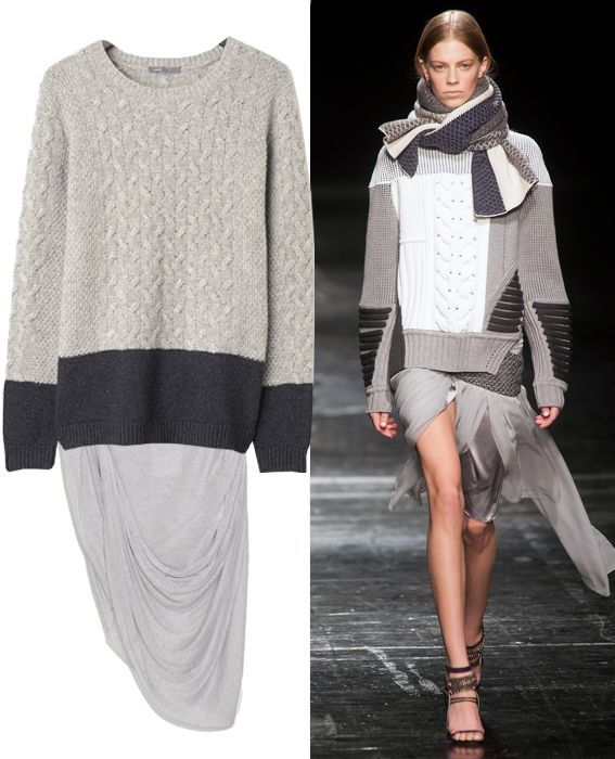 a5a4baa0a Ace Your Fall Uniform with These 23 Sweater-and-Skirt Combos