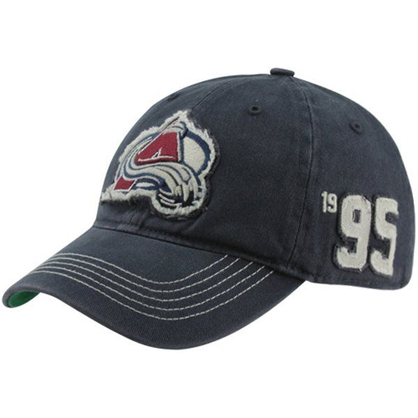 846de6dea3e 47 Brand Colorado Avalanche Badger Franchise Fitted Hat - Steel Blue ...