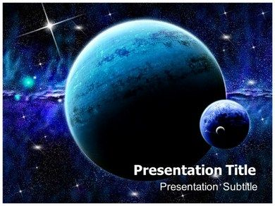 space power point template is a dark template which is used with, Powerpoint templates