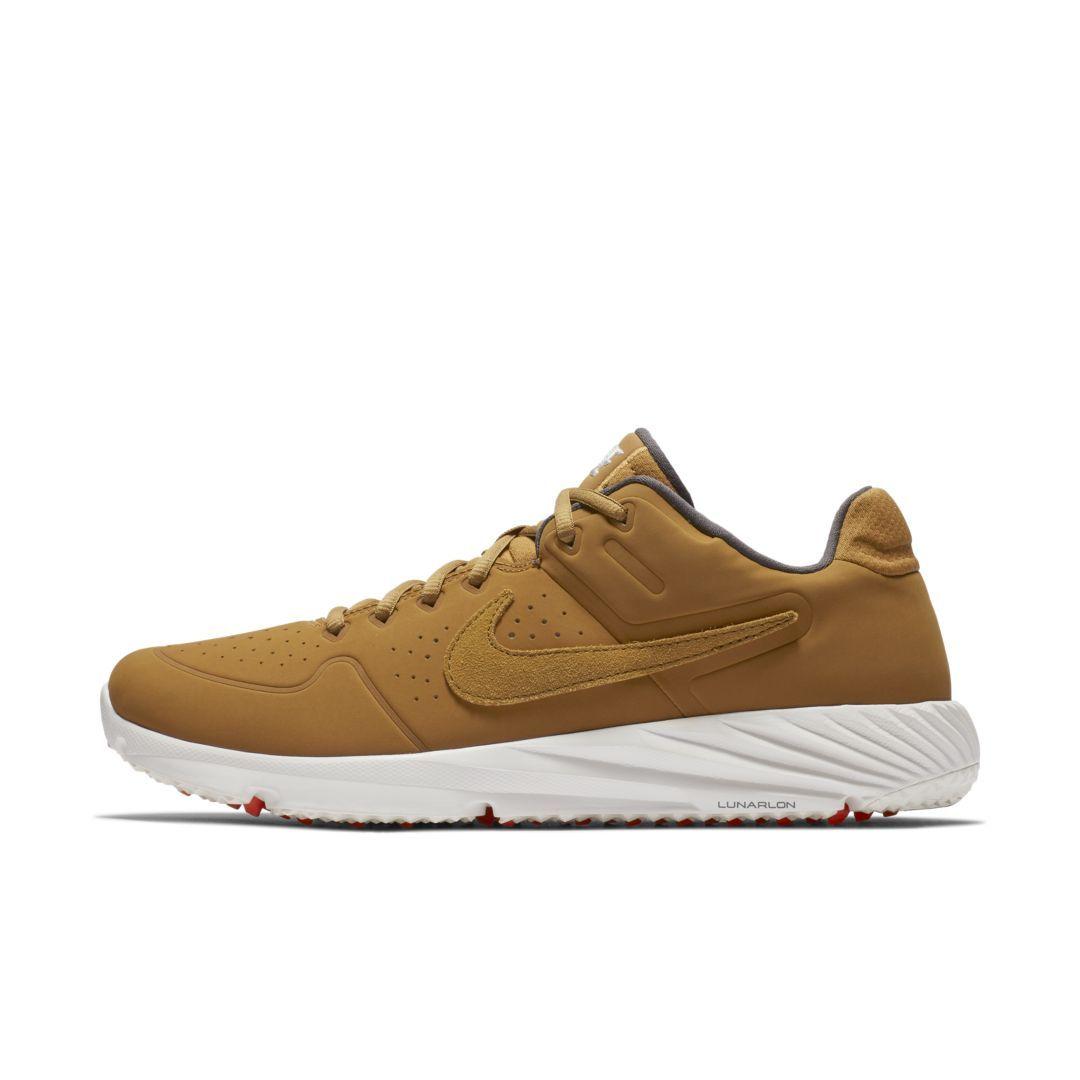 new style ce658 d0f80 Nike Alpha Huarache Elite 2 Turf Baseball Cleat Size 11 (Wheat)
