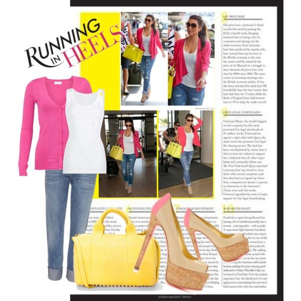 Running In Heels, created by jamieenicolee.polyvore.com