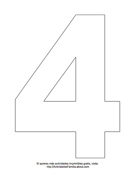 Numeros Para Imprimir Y Colorear Numero Para Imprimir Moldes Letras Para Imprimir Letras Para Imprimir