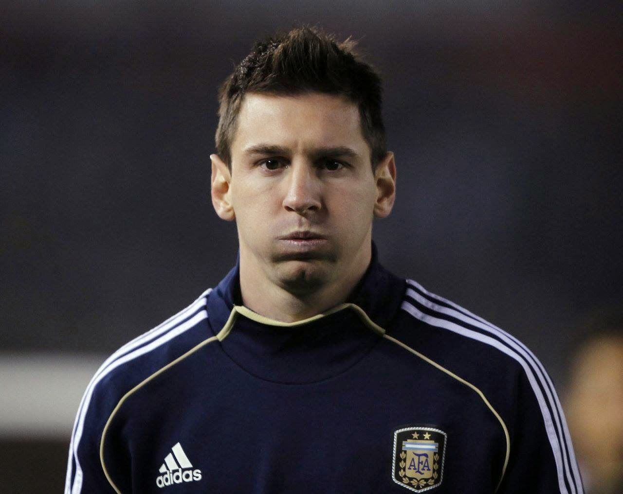 New Lionel Messi Hairstyle 2014 Hair Style Lionel Messi Haircut Lionel Messi Hair Styles 2014