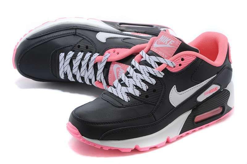 best cheap d2e20 9d032 Men  Women s Nike Air Max 90 Essential Trail Ruuning Shoes Black Pink