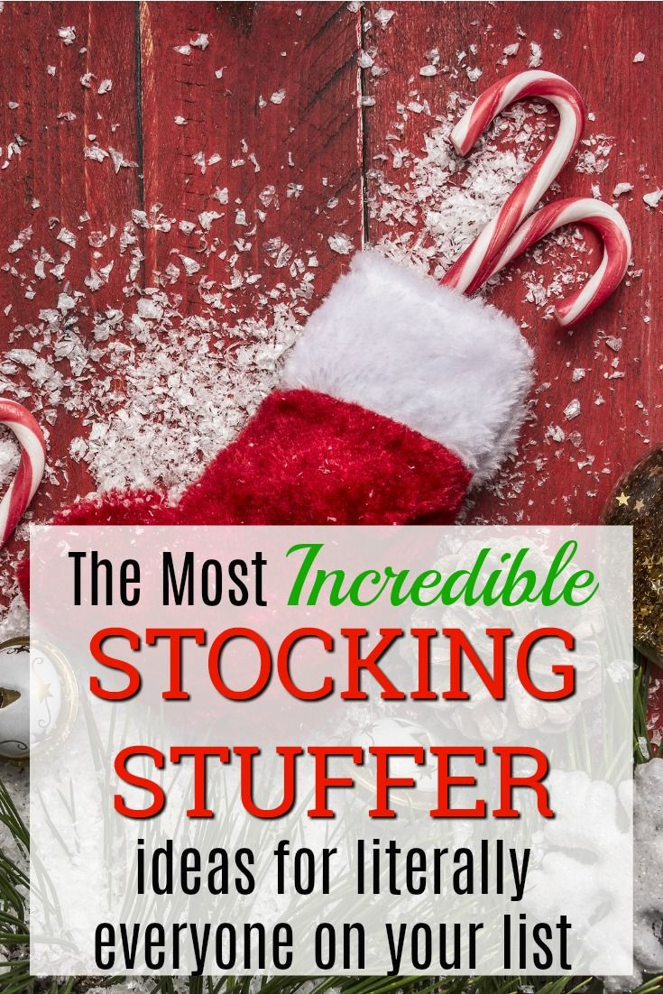 The Most Incredible Stocking Stuffer Ideas for Literally Everyone on Your List - Unique Gifter #stockingstuffersforadults