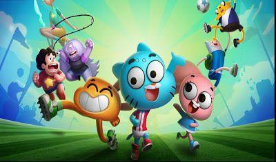 Superstar Soccer Goal Cartoon Network