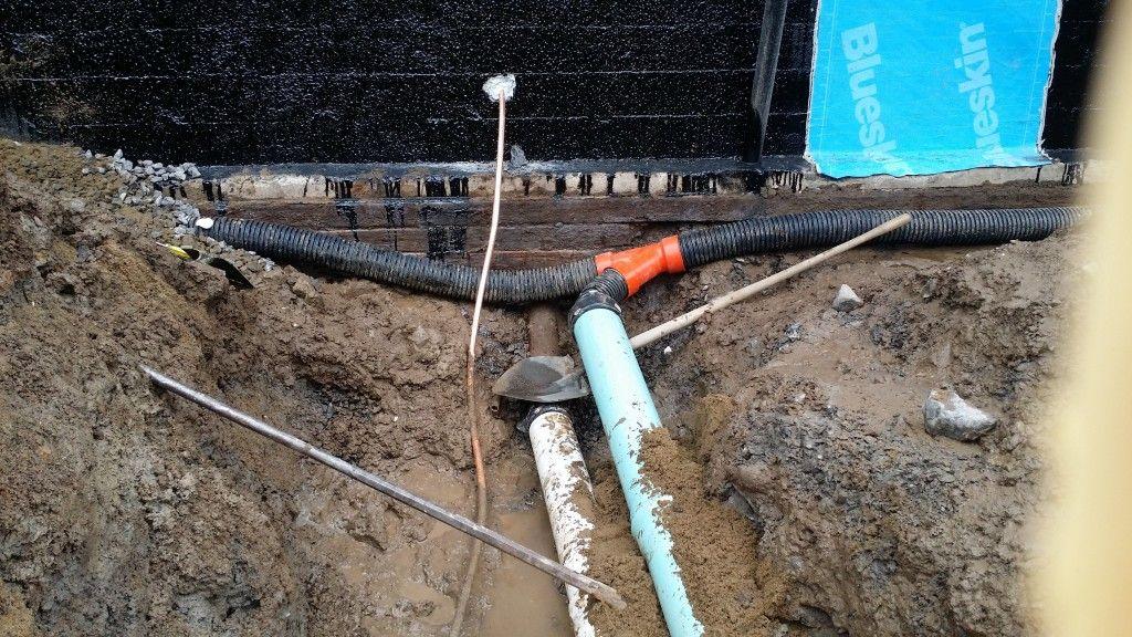 Drainage de fondation - Remplacement de drain agricole - JS Lauzon - comment faire des fondations pour une maison