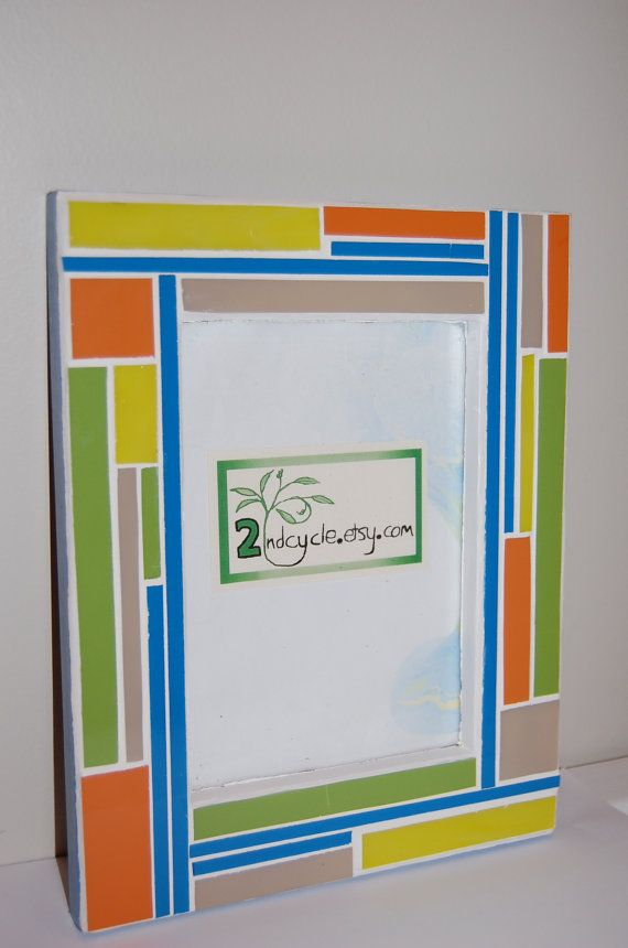 Photo Frame Mosaic Stained Glass | Vidrieras, Mosaicos y Ventas