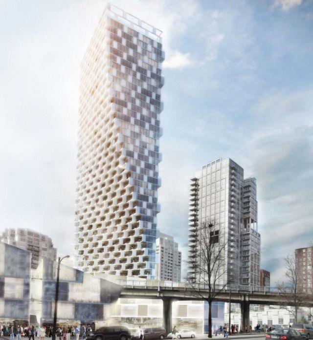Beach & Howe Tower Proposal Vancouver BIG Tower Bjarke