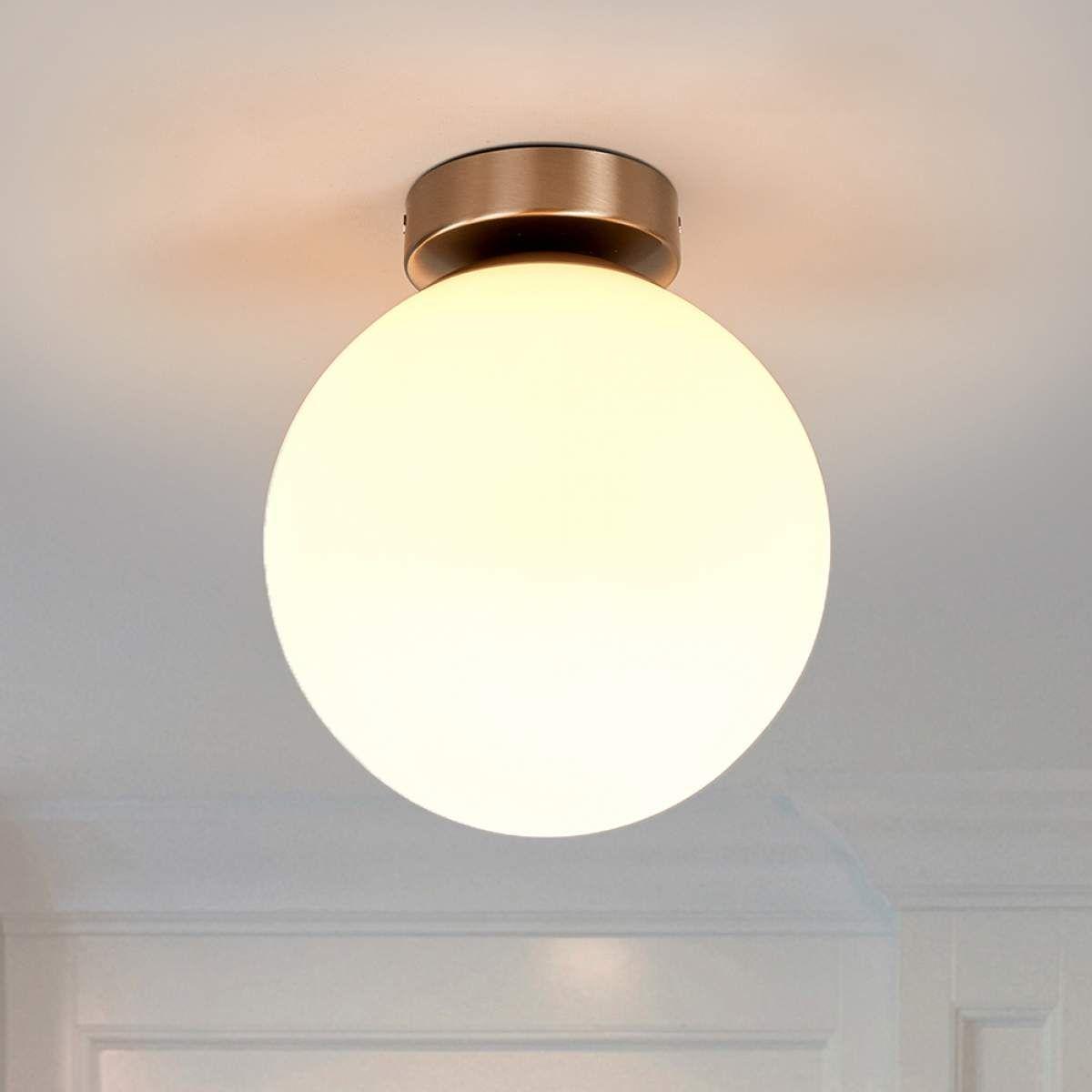 Runde Badezimmer Deckenleuchte Lennie In 2020 Badezimmerlampe