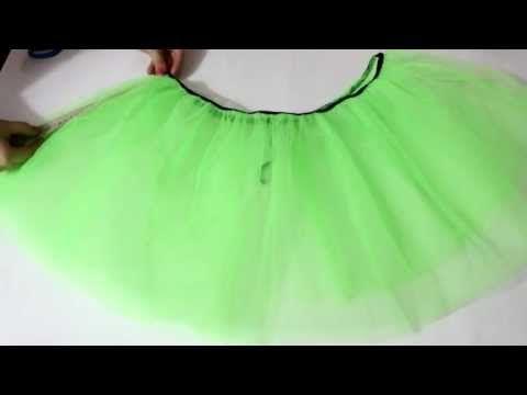 cba27e3b1 Falda de Tul para adulto TUTU, facil tulle skirt without adult seams ...
