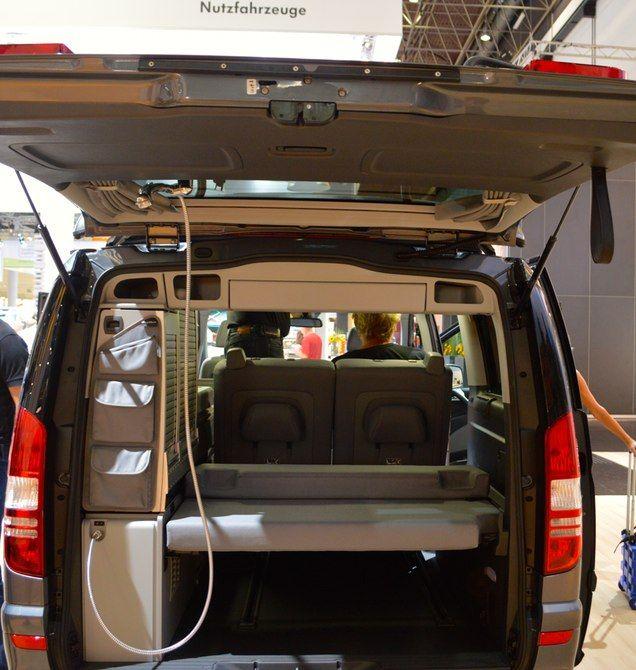 Mercedes Serves Up Van Campers In Three Flavors Images Camper Van Mercedes Van Mercedes