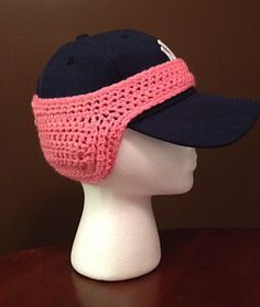 Baseball Cap Ponytail Ear Warmer