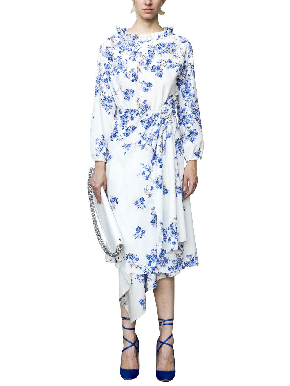 White floral dress get on my body pinterest white floral dress vetements white floral dress izmirmasajfo