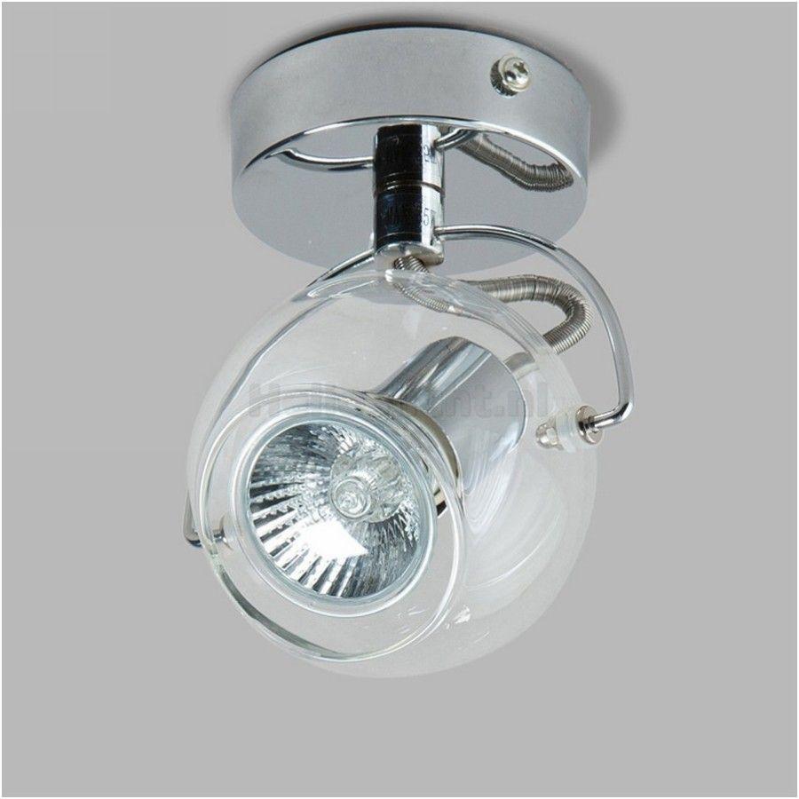 LEDpaleis - Spot/Wandlamp Vitro, chroom,metaal/glas - SPOTS ...