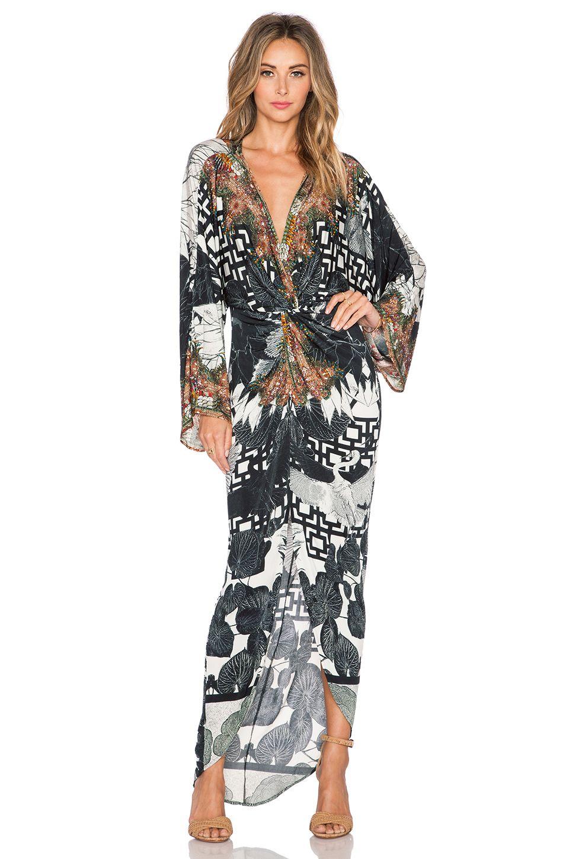 cb59abb3fa2 Camilla Twist Front Maxi Dress in Wanderlust