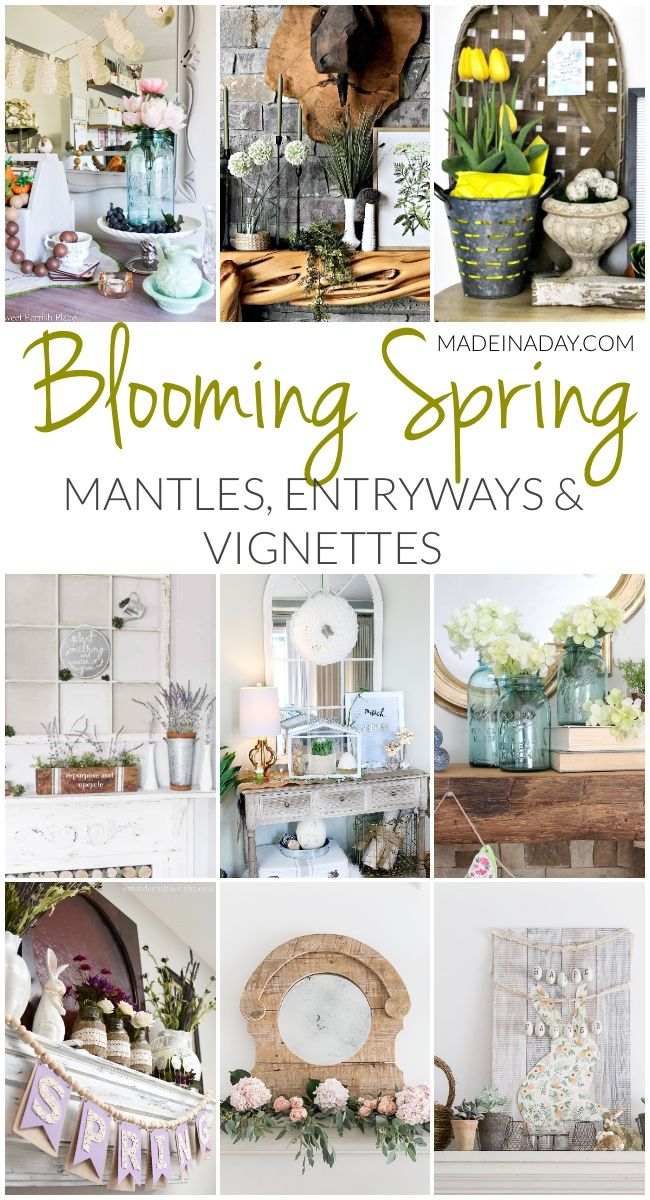 Eight spring ideas for your home crafty the core diy galore pinterest also rh