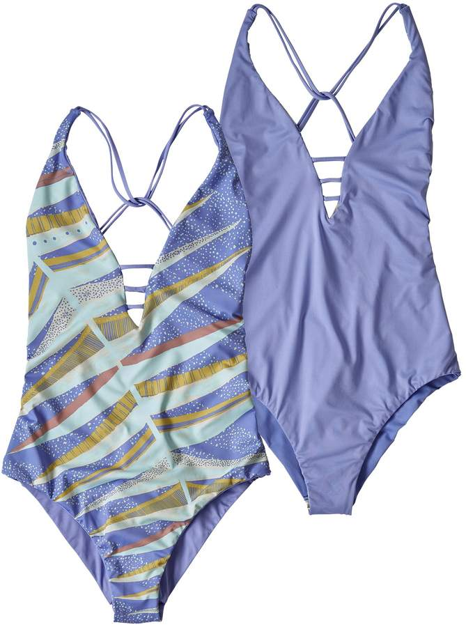 3a2311e25b Patagonia Women's Reversible Extended Break One-Piece Swimsuit in ...