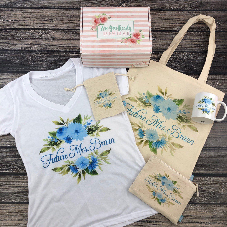 Perfect Wedding Gifts: Future Mrs Personalized Gift Box -Bride Box, Engagement