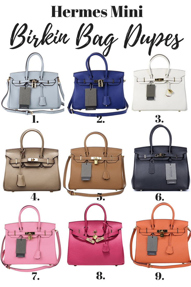 Birkin Inspired Handbags Your Ultimate Guide To Hermes Bag Dupes