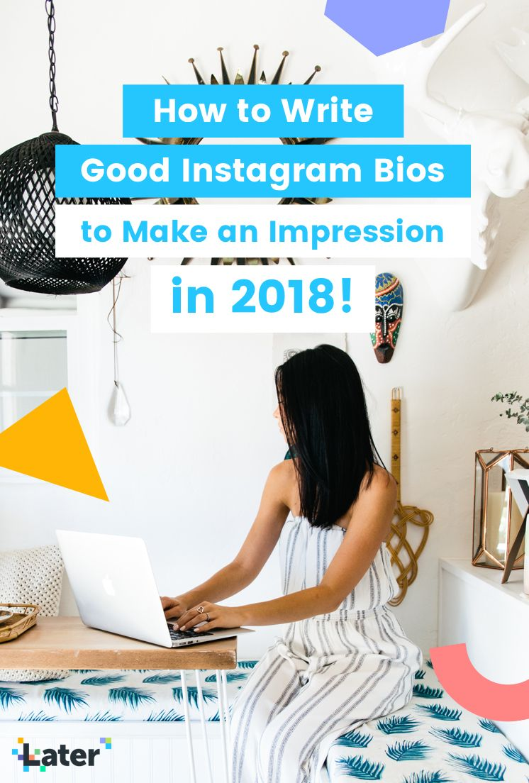How to Write Good Instagram Bios w/ Tips, Ideas and