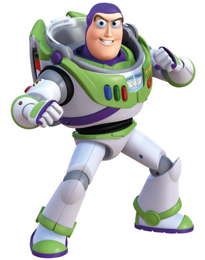 Buzz Lightyear is a toy based on a Space Ranger from Toy Box who ...