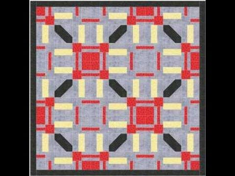 Geometric Quilt Pattern Video Tutorial - YouTube | Блоки. Копилка ... : youtube patchwork quilt videos - Adamdwight.com