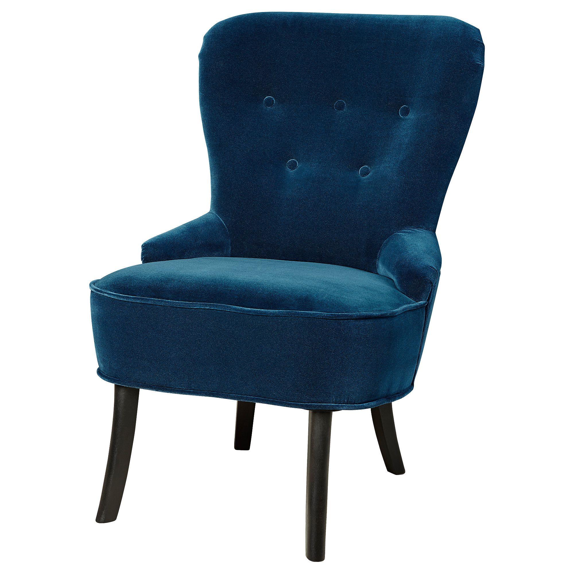 Sedia Poltrona Ikea.Remsta Poltrona Djuparp Verde Blu Scuro Blu Verde New