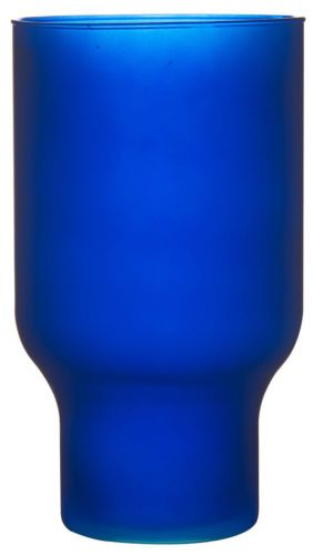Details About Large Blue Glass Flower Vase 30 Cm Wide Mouth Hurricane Vase Matt Blue Eco Glass Flower Vases Glass Flower Vases Matt Blue