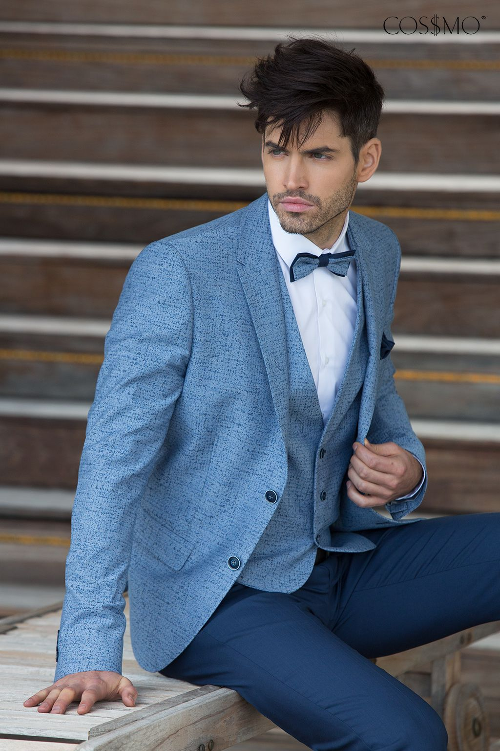 Suits Light Blue Label - Cossmo | The wedding <3 | Pinterest | Male ...