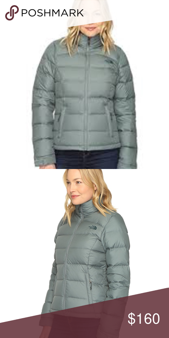 17c4e2d05456 The North Face Nuptse 2 Jacket Balsam Green Womens New without tags ...