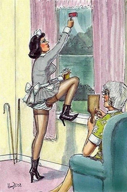 chores Femdom household
