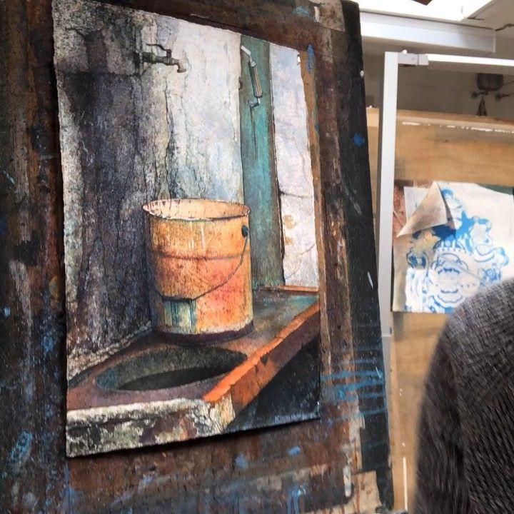 Angus mcewan painting watercolor instagram posts