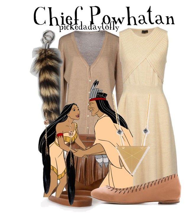 """Chief Powhatan"" by pickedadaytofly ❤ liked on Polyvore featuring Szen, Rosetti, Fendi, Loeffler Randall, Rebecca Boatfield and Boohoo"